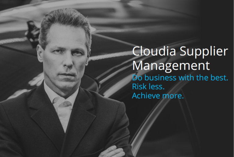 Cloudia Supplier Management